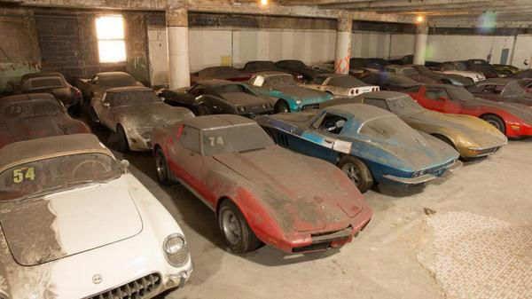 Peter Max Corvette Collection Ultimate Barn Find Road