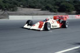 Rick Mears in his Formula 1 car