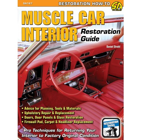 car upholstery interiors muscle car interior restoration book review average guy 39 s car. Black Bedroom Furniture Sets. Home Design Ideas
