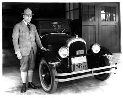 Walter P with a Chrysler Six