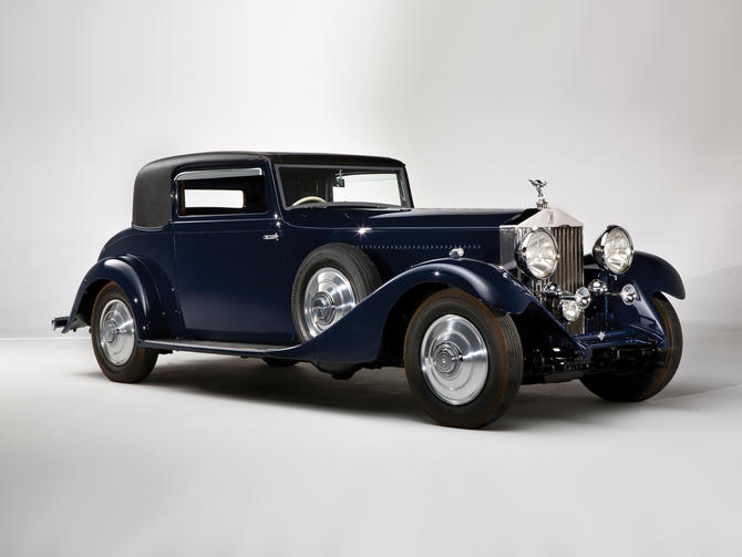 1933 Hooper Rolls Royce Phantom II Continental Sports Coupe