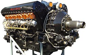 1933 Merlin - used in the Hawker Hurricane, de Havilland Mosquito and the famous Supermarine Spitfire