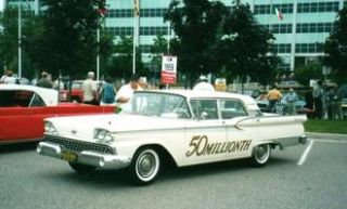 Ford Fairlane 500 Galaxie - 50 Millionth Ford